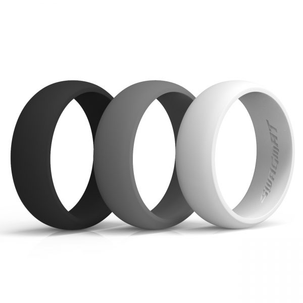 Classic Contrast Silicone Rings
