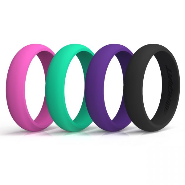 Classic Popart Silicone Rings
