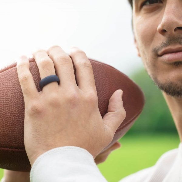 Silicone ring football