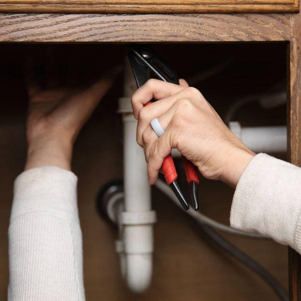 Silicone ring plumber