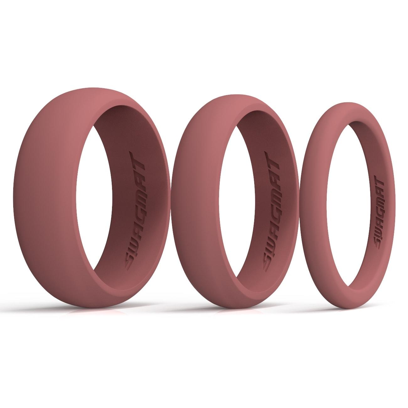 Multi-Width Turkish Rose Silicone Rings